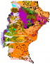 Santa Cruz - Mapa Geologico - Geology Map